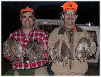 Successful South Texas Quail Hunt Near Cotulla
